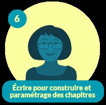 Capsule CDO Enseignant 6 – Écrire pour construire et paramétrage des chapitres